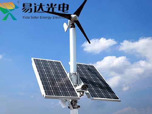 风光互补太阳能供电方案